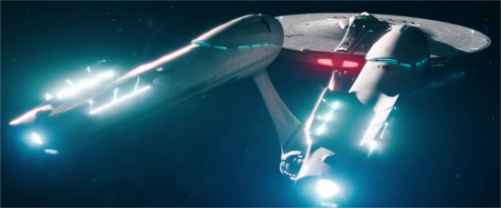 L'USS Enterprise © Paramount Pictures