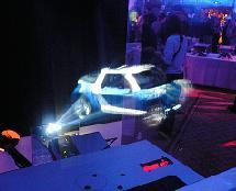 Un système de projection qu'on pourrait retrouver sur R2D2 ! © iO2 Technology