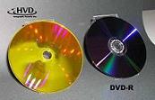 Voici un prototype de disque holographique (HVD). Il pourrait succéder aux blu-ray dans les années à venir © Holographic Versatile Disc Alliance