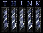 Le premier mot d'IBM Research : THINK (voir le lien vidéo dans les sources) © IBM