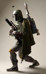 Jetpack de Boba Fett dans Star Wars, Le Retour Du Jedi © Lucasfilm
