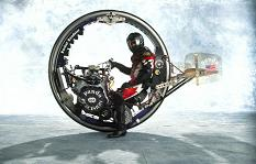 Le Drag Wheel de Kerry McLEAN © McLean Monocycle