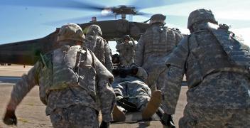 Sur les champs de bataille, le « couteau plasma » pourrait sauver des vies © US Army