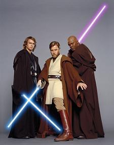 Sabres laser des Jedi © Lucasfilm