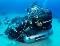 Équivalent sous-marin d'un véhicule d'exploration spatiale (S.E.V.) © NASA