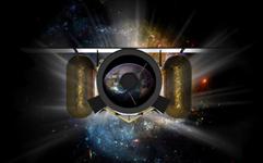 Le télescope LEO scrutant l'espace à la recherche d'astéroïdes (vue d'artiste) © Planetary Ressources
