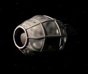 Le « sac » spatial peut se refermer complètement et ainsi éviter à l'eau de s'échapper © Planetary Ressources