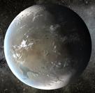 Vue d'artiste de Kepler-62-f © Nasa