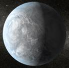 Vue d'artiste de Kepler-62-e © Nasa