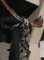 Le jetpack de Faucon, le super-héros des Avengers © Marvel Studios