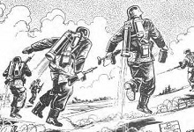 L'Himmelstürmer de l'armée allemande © The Rocketbelt Caper