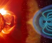 Le champ électromagnétique de la Terre © Nasa