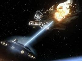 Une bataille dans la série Stargate Atlantis © Metro-Goldwyn-Mayer